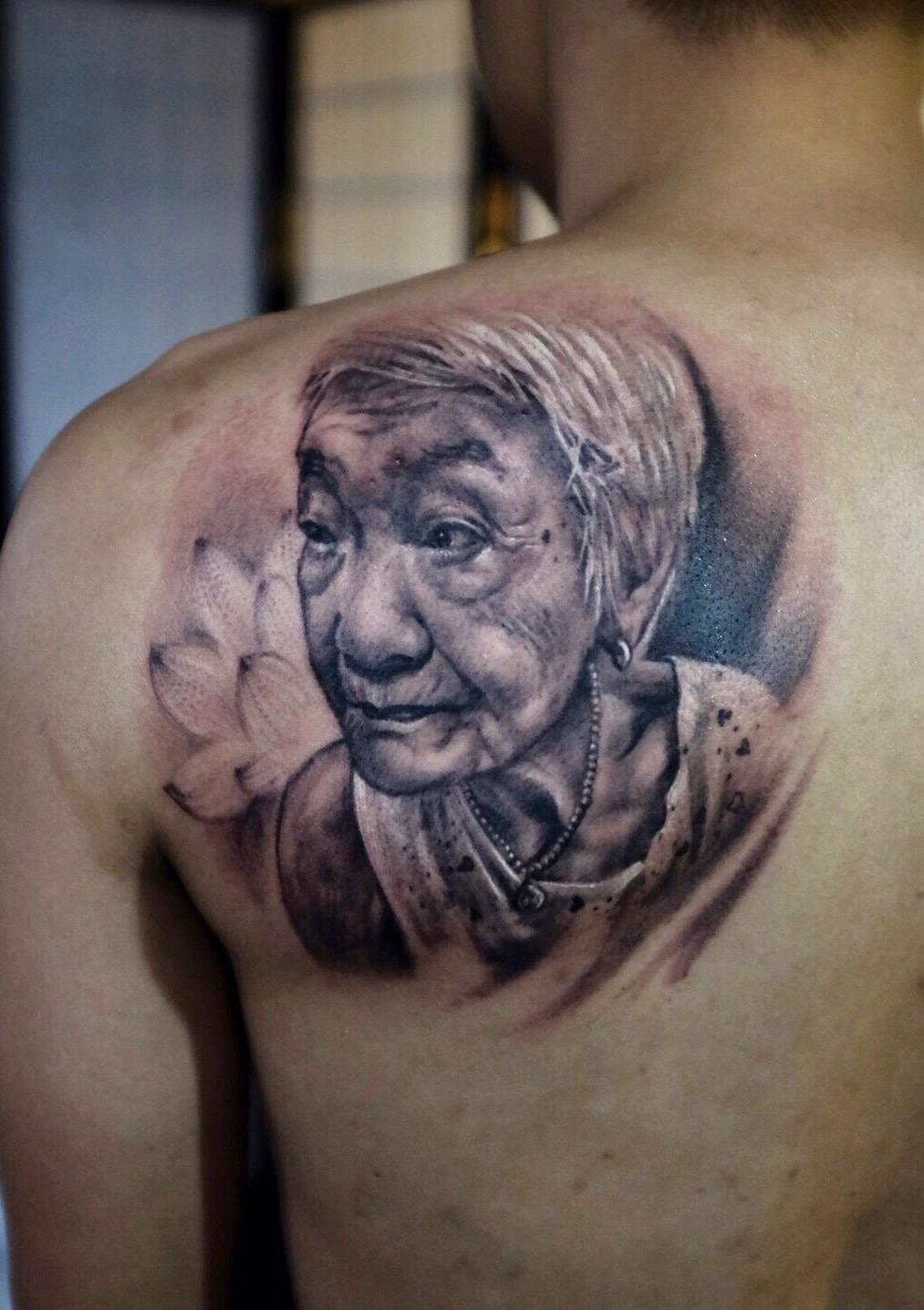 portrait tattoo 1
