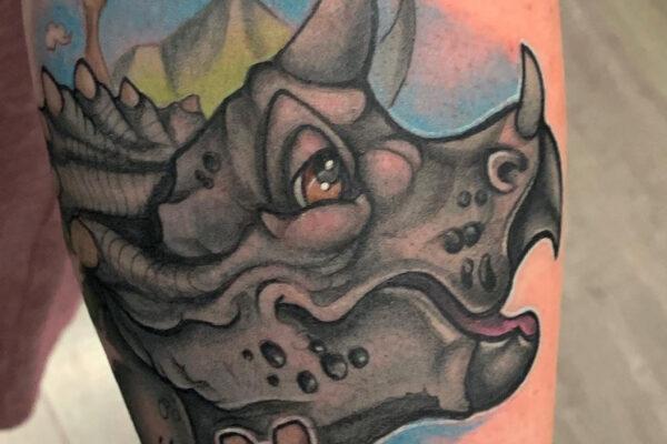 urias rhino shanghaitattoo folsom