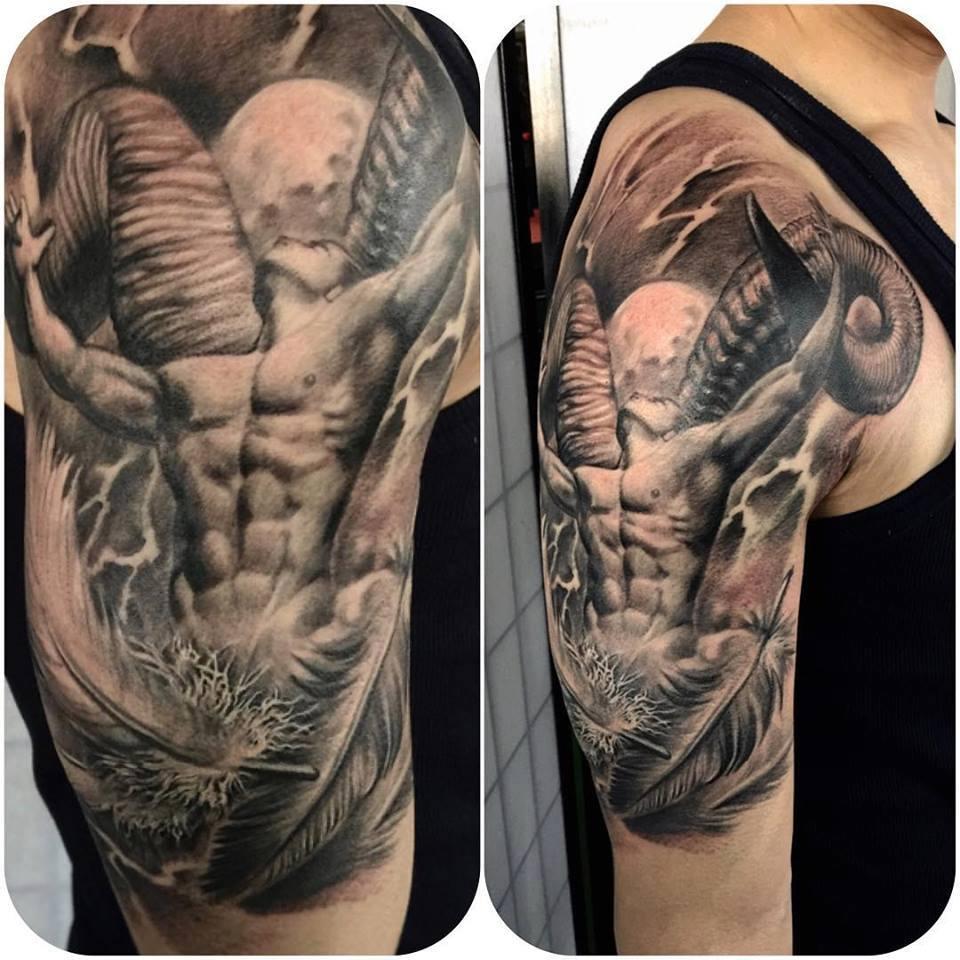 zhuo dan ting tattoo work 1 1